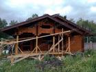 Увидеть фото Строительство домов Сруб бани, от фундамента до кровли, размером 6х6 из профилированного бруса 150х150 58736673 в Красноярске