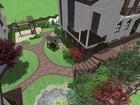 Смотреть фотографию  Дизайн сада, Благоустройство, Озеленение, 69269044 в Красноярске