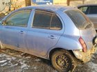 Nissan March 1.2AT, 2002, битый, 170000км