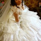 Продам отличное свадебное платье плюс комплект перчатки и фата