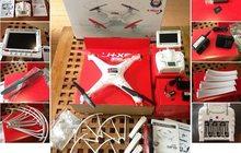 Огромный квадрокоптер (не Phantom) c видеокамерой и FPV – видео и запись от первого лица