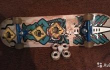Скейтборд с набором