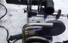 Пайка полиэтиленовых труб электромуфтовым и стыковочным станком