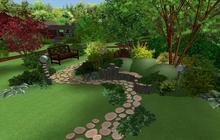 Ландшафтный дизайн сада, озеленение, гарантия