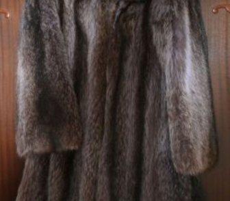 Фото в Одежда и обувь, аксессуары Женская одежда Шуба /Пальто меховое/ женская из ЕНОТА.  в Красноярске 6000