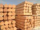 Свежее фотографию Строительные материалы Изготовим оцилиндрованное бревно 33609170 в Куйбышеве