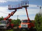 Фотография в   Аренда телескопических автовышек 12, 18, в Москве 7500