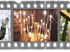 Фото в   Картина повествует о духовном подвиге преподобного в Москве 300