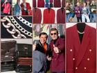 Уникальное фото  Реальный прикид, Малиновый пиджак - символ 90-х 37319097 в Москве