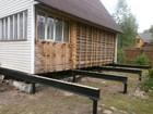 Просмотреть изображение  Свайный фундамент/Монтаж, установка за 24 часа 37332449 в Саратове