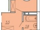 Скачать фото  Однокомнатная квартира редкой планировки в Краснодаре район ЗИП 38701567 в Краснодаре