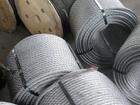 Уникальное изображение  Канат одинарной свивки типа ЛК-О ГОСТ 3062 80 ф 0,65 - 11,5 мм для растяжки и такелажа 39585786 в Самаре