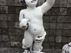 Смотреть фотографию  Скульптура из бетона Амур светильник выс, 68 см, вес 30 кг, 43899385 в Москве