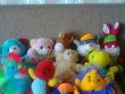 Мягкие игрушки, очень много