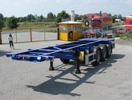 Полуприцеп контейнеровоз wielton ns 3 p40 PамаКузов – площадка  стальн