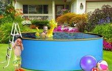 Бортовой каркасный бассейн Эри 2, 7х1, 25 м