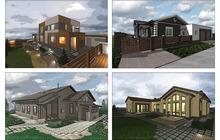 Готовый проект дома, проект бани, проект барбекю и пр.