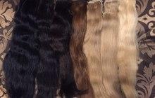 Накладной хвост из славянских волос, высокое качество - Москва