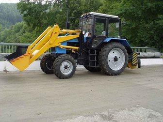 Скачать foto Спецтехника Трактор коммунальный Мк-3 на базе трактора Мтз-82 (Погрузчик, Щётка) 33309618 в Кургане
