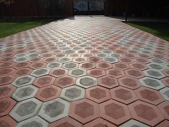 Свежее фотографию Строительные материалы Тротуарная плитка Шестигранник 34023042 в Кургане
