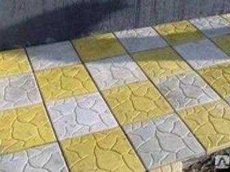 Увидеть foto Строительные материалы Тротуарная плитка Песчанник 300х300х30 34023091 в Кургане
