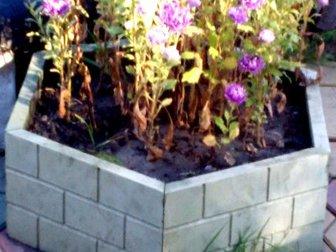 Скачать бесплатно изображение Разное Вазон-цветочница Шестигранник ( полимер-песчаный) 34421798 в Кургане