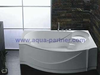 Свежее изображение  Недорогая акриловая ванна Евролюкс Александрия 37303405 в Москве