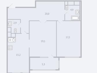 Уникальное фотографию  ЖК Квартал 38а продаем 2-комнатную квартиру 39027110 в Москве