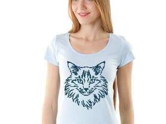 Скачать фотографию  Дизайнерские футболки,толстовки и иной текстиль с аппликацией кристаллами и металлом 39162079 в Москве