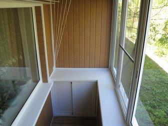 Уникальное foto  Остекление балкона под ключ, Цены на остекление 39342030 в Москве