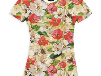 Новое foto  Мега распродажа женских и мужских футболок, 39443291 в Москве
