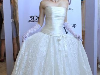 Смотреть фото  свадебное платье прямого силуэта 40053933 в Москве