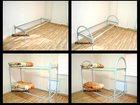 Фотография в Строительство и ремонт Строительные материалы продаём металлические кровати эконом-класса. в Куровском 1320