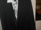 Изображение в   Костюм мужской новый (1 раз одевался) черный в Курске 1800