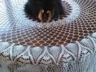 Фото в Мебель и интерьер Другие предметы интерьера продам скатерть круглую вязанную крючком в Курске 15000
