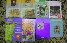 учебники и 1 рабочая тетрадь за 7 класс