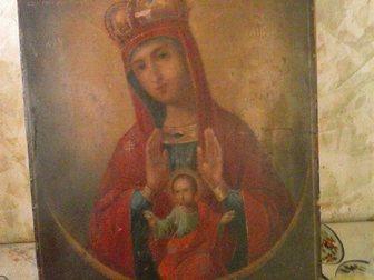 Скачать фотографию Антиквариат Продаю икону 18-19 век, 33860823 в Москве