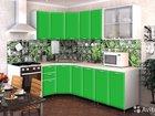 Кухня Радуга 3,7 м зеленая в наличии со склада