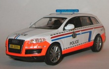 полицейские машины мира №28 AUDI 07 полиция Люксембурга