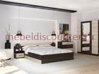 Фотография в Мебель и интерьер Мебель для прихожей Новый в упакковке с кровать 1600мм шкаф 1600 в Люберцы 9985