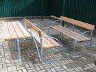 Изображение в Строительство и ремонт Разное Реализуем скамейки дачные. Каркас из оцинкованной в Люберцы 2000