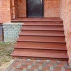 Ступени, Лестницы из сухопрессованного бетона