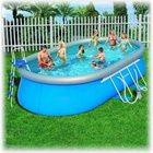 Овальный бассейн Bestway 56125, размер 7,32 х 3,6 х 1,2 м