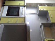 Гарнитур для Вас Кухонный гарнитур функциональный и вместительный светло-зеленог