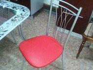 Магнитогорск: Стул для вашей кухни Современный стул для вашей кухни.   Исполнение в зеркальном хроме.   Цвет обивки на ваш выбор.   Иск/кожа и экокожа.   С доставко