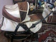 продам коляску Зима-лето, в комплекте сумка переноса, сумка матери на ручке, дож