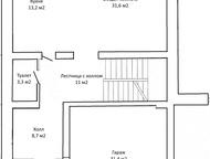 Продам Тан-Хаус Продам Таун-Хаус в пос. Южный Посад, площадью 340 кв. м. , 2 уро