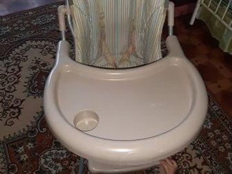 Удобный стул для кормления,хорошо моется,можно пристегнуть ребенка,чтобы он не вставал и не выпалСостояние: Б/у в Магнитогорске