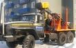 Лесовоз Урал 55571-60М с манипулятором Омтл-97