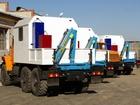 Фото в Грузовики Грузопассажирский фургон Производим ремонтные машины АНРВ. Шасси Урал, в Миассе 0